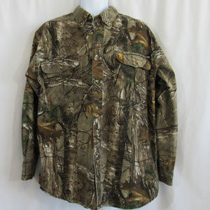 Browning Shirts - Browning Realtree Mens Large Camo Hunting Shirt